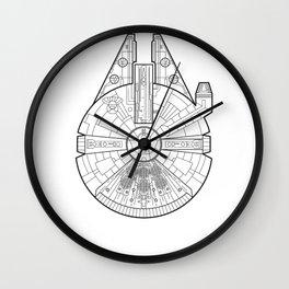 Millenium Falcon. Wall Clock