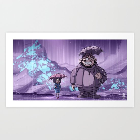 My Neighbor del Toro Art Print
