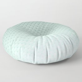 Geometric #turquoise #pattern #monochrome Floor Pillow