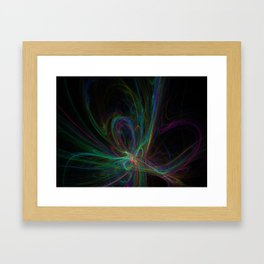 Going In The Right Direction Framed Art Print