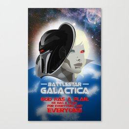 Battlestar Galactica Canvas Print