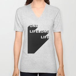 Lifelong life Unisex V-Neck
