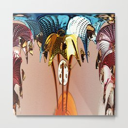 Wind Chime Metal Print