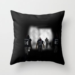 NY Giants Super Bowl XLVI Throw Pillow