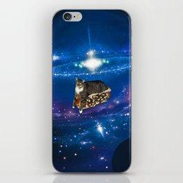 Floating on a Chili Dog iPhone Skin