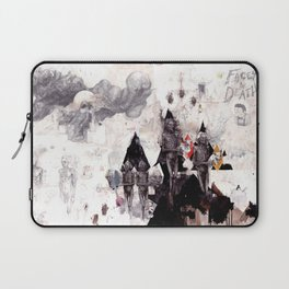 Faces of Death Laptop Sleeve