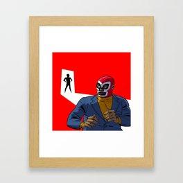 Les Aventures d'El Spectro Framed Art Print