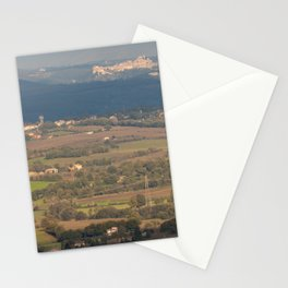 Italian countryside landscape Stationery Cards