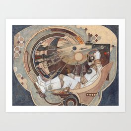 The Window into Infinity Art Print