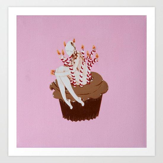 Happy Birthday to Me... Art Print