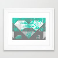 spires Framed Art Prints featuring spires dymynd by Spires