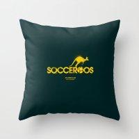 australia Throw Pillows featuring Australia by Skiller Moves
