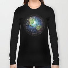 Earth And Space Long Sleeve T-shirt