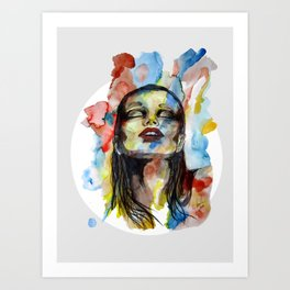 """Mirabelle"" by carographic Art Print"