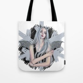 Modern Ice Queen Tote Bag