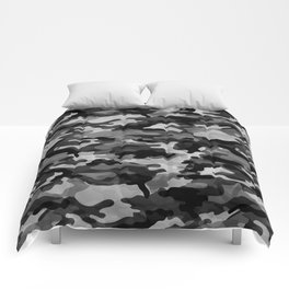 Camouflage (Gray) Comforters
