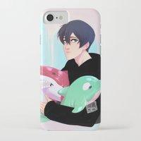 iwatobi iPhone & iPod Cases featuring plushies by JohannaTheMad
