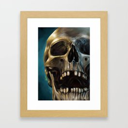 Skull 4 Framed Art Print