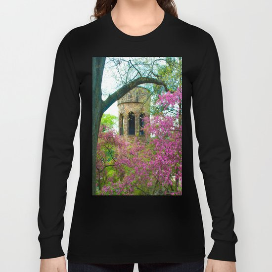 Bell Tower in Spring Long Sleeve T-shirt