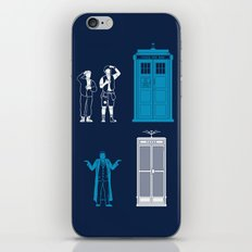 This is Not My Time Machine iPhone & iPod Skin