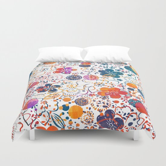 Summer Meadow Duvet Cover