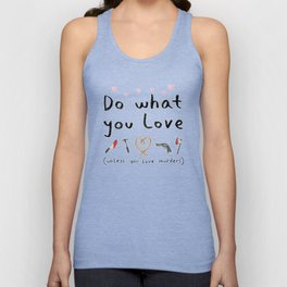 Motivational Poster Unisex Tank Top