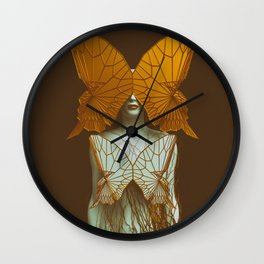 Transformation II Wall Clock