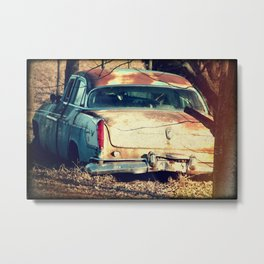Greetings from the Rustbelt I Metal Print