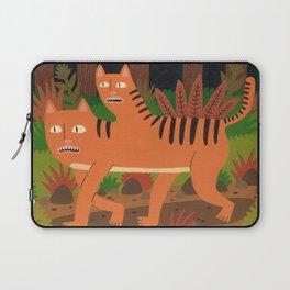 Two-headed Cat Laptop Sleeve