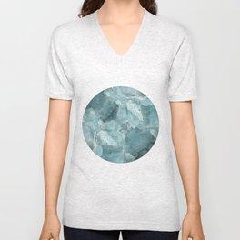 circle glace Unisex V-Neck