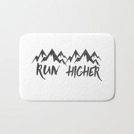 Run Higher  Bath Mat