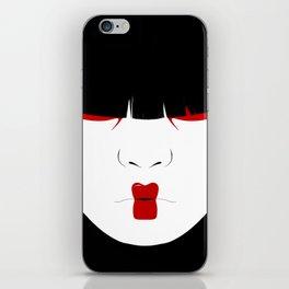 Modern Geisha #2 iPhone Skin