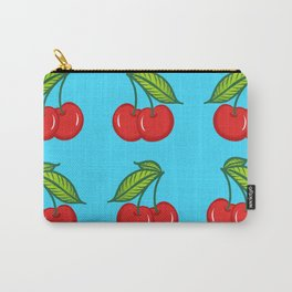 Cherry Cherry Baby Blue Carry-All Pouch