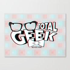 Total Geek Canvas Print