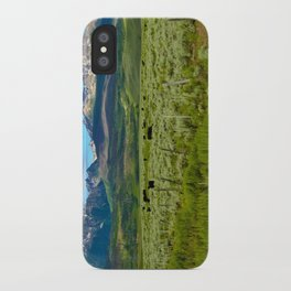 Colorado cattle ranch iPhone Case