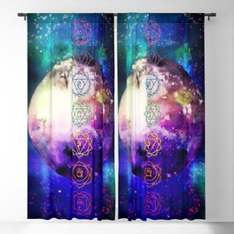 Reach Out To The Stars Blackout Curtain