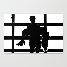 Shadow Lovers Canvas Print
