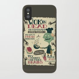 The Wok In Dead (v.2) iPhone Case