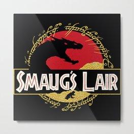 Smaug's Lair Metal Print