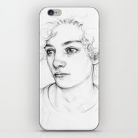 boy iPhone & iPod Skins featuring Boy  by Laura O'Connor