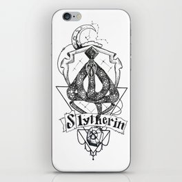 The Cunning House of Slytherin iPhone Skin