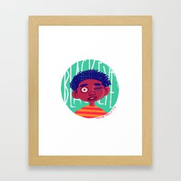 Black Eyed Society Framed Art Print