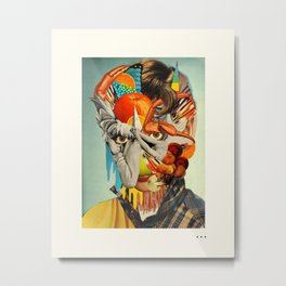 HOLLYWOODLAND (2) Metal Print