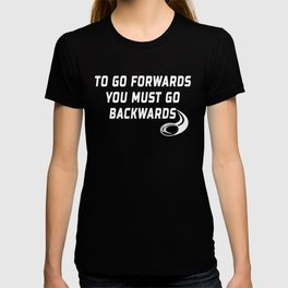 Rugby Go Backwards Quote T-shirt