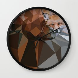 RedFox Wall Clock