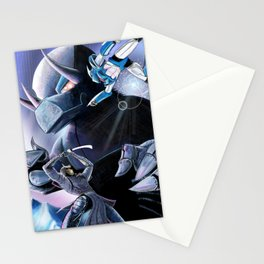 Battle of the Mechs Stationery Cards