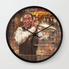 Cosby's Bar Wall Clock