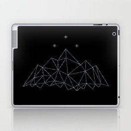 The Night Court insignia from A Court of Frost and Starlight Laptop & iPad Skin