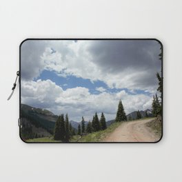Black Bear Pass Road - Panorama from a Crest Laptop Sleeve