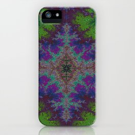 Fractal Diamond 2 iPhone Case